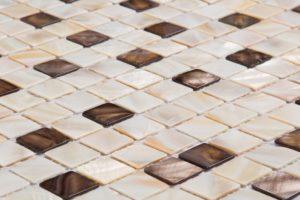 крема микс скуаре перламутр мозаика 10