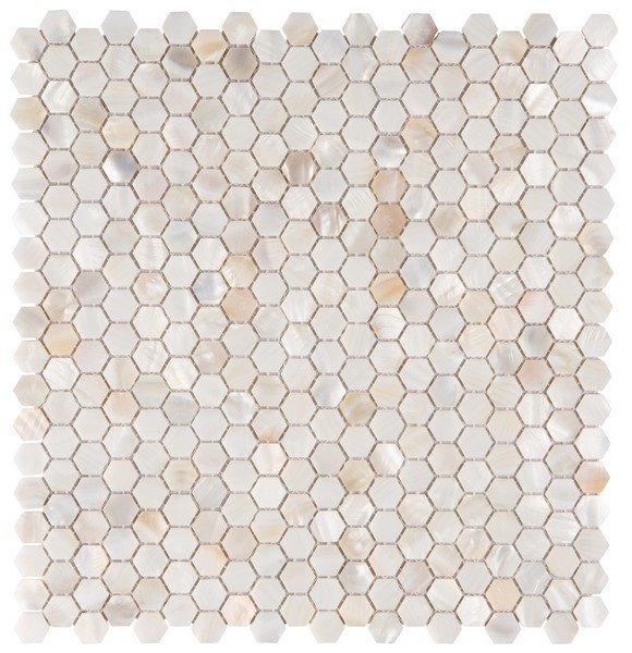 крема хекс перламутр мозаика 33